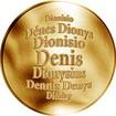 Česká jména - Denis - zlatá medaile