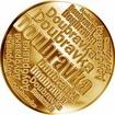 Česká jména - Doubravka - velká zlatá medaile 1 Oz