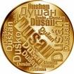 Česká jména - Dušan - velká zlatá medaile 1 Oz