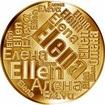 Česká jména - Elena - velká zlatá medaile 1 Oz