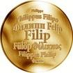 Česká jména - Filip - zlatá medaile