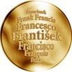 Česká jména - František - velká zlatá medaile 1 Oz