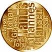 Česká jména - Hanuš - velká zlatá medaile 1 Oz