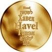 Česká jména - Havel - zlatá medaile