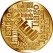 Česká jména - Jakub - velká zlatá medaile 1 Oz