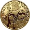 Jan Žižka z Trocnova - zlato Proof