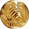 Česká jména - Jitka - velká zlatá medaile 1 Oz