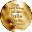 Česká jména - Julie - zlatá medaile