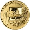 K ukončení studia 25 mm zlato Proof
