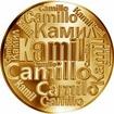 Česká jména - Kamil - velká zlatá medaile 1 Oz