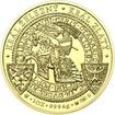 Korunovace Přemysla Otakara II českým králem - zlato - b.k.