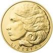 Svoboda, Rovnost, Bratrství I. - sada tří zlatých medailí Proof