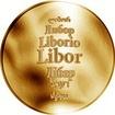 Česká jména - Libor - zlatá medaile