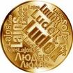 Česká jména - Luděk - velká zlatá medaile 1 Oz