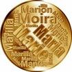 Česká jména - Marie - velká zlatá medaile 1 Oz