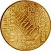 Česká jména - Marta - velká zlatá medaile 1 Oz