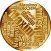 Česká jména - Maxim - velká zlatá medaile 1 Oz