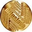 Česká jména - Miloslava - velká zlatá medaile 1 Oz