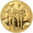 Osvobození Československa 8.5.1945 - 20 mm zlato b.k.