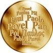 Česká jména - Pavel - zlatá medaile