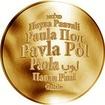Česká jména - Pavla - zlatá medaile