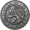 Pražský groš - 2 dukát Ag patina
