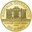 Investiční zlato - Zlatá mince - Philharmoniker 1/2 Oz
