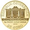 Investiční zlato - Zlatá mince - Philharmoniker 1/4 Oz