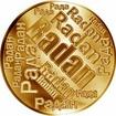 Česká jména - Radan - velká zlatá medaile 1 Oz