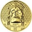 Relikvie Sv. Václava - II. -  1/2 Oz zlato b.k.