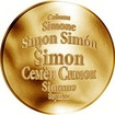 Česká jména - Šimon - zlatá medaile