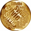 Česká jména - Sylva - velká zlatá medaile 1 Oz