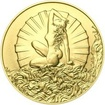 Venuše 25 mm zlato b.k.