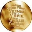 Česká jména - Vilém - zlatá medaile