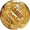 Česká jména - Xenie - velká zlatá medaile 1 Oz