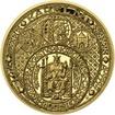 Nejkrásnější medailon III. - Císař a král zlato Proof