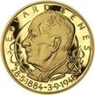 Edvard Beneš - 125. let narození - zlato Proof
