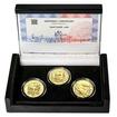 KAMIL LHOTÁK – návrhy mince 200 Kč - sada 3x zlato b.k.