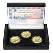 ZALOŽENÍ KLÁŠTERU ZLATÁ KORUNA – návrhy mince 200 Kč - sada 3x zlato Proof