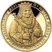 550 let od korunovace Jiřího z Poděbrad českým králem - zlato Proof