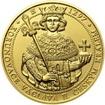 Korunovace Václava II. českým králem - zlato b.k.
