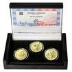 PETR VOK Z ROŽMBERKA – návrhy mince 200 Kč - sada 3x zlato Proof