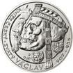Relikvie Sv. Václava - I. - Ag 28mm b.k.
