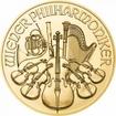 Zlatá mince Vídeňští filharmonici 1/25 Oz - 2021