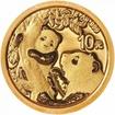 Zlatá mince Panda 1 g - 2021