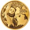Zlatá mince Panda 15 g - 2021