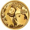 Zlatá mince Panda 3 g - 2021