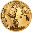 Zlatá mince Panda 8 g - 2021