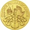 Zlatá mince Philharmoniker 1/4 Oz 2018