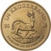 Zlatá mince Krugerrand 1/4 Oz 2018